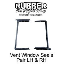 1955 1956 Ford Mercury Vent Window Seals 2 DR HT & Convertible