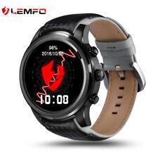 Lemfo LEM5 Bluetooth Reloj Teléfono Inteligente 3G Gps Wifi Deporte Reloj para Android iOS