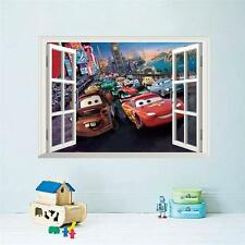 3D movie cars cartoon kids room home deocration poster wall art film
