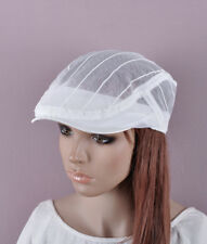 Fashion COOL White Polyster Golf Gatsby Hat Newsboy Cap Cabbie Summer Women's
