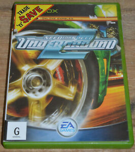 Need For Speed Underground 2 (Xbox, 2004) - PAL 4 - Complete in Case