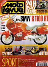 MOTO REVUE 3133 BMW R1100 RT CAGIVA 125 MITO BIMOTA FZR 600 YB9 24 Heures MANS