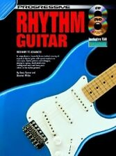 PROGRESSIVE RHYTHM GUITAR Book + CD & DVD