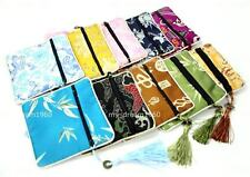 10pcs Square Embroidery Brocade Silk Coin Bags,Purse,Jewelry Bags