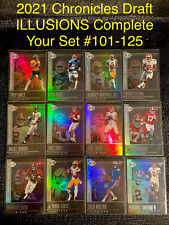 2021 PANINI CHRONICLES DRAFT PICKS ILLUSIONS YOU PICK COMPLETE YOUR SET #101-125