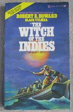 The Witch of the Indies by David C. Smith PB 1st Zebra 267 Black Vulmea