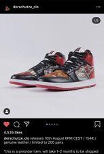Derschutze Air Jordan 1 High Custom Japan Size 9 *Order Confirmed*