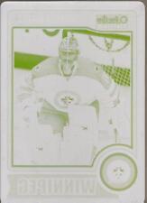 ONDREJ PAVELEC 2014-15 O-pee-Chee Platinum Printing Plate #1/1 Winnipeg Jets