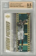 Michael Jordan 2001-2002 Upper Deck UD Motion Pictures BGS 9.5 True Gem *POP 16*