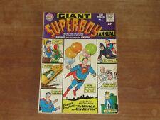 SUPERBOY ANNUAL #1 KEY DC SILVER AGE HIGH  GRADE VF/VF+ ORIGIN OF KRYPTO RETOLD!