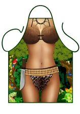 """Iconic Femmes Sexy Nouveauté TABLIER """"Sexy Jungle Jane, TARZAN"""", comme barbecue d'été, Costume"""