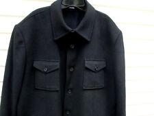 CLAIBORNE VINTAGE INSPIRED WOOL BLEND SHIRT LIKE BUTTON FRONT JACKET XXL