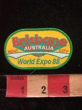 1988 BRISBANE World Expo Host City Australia Patch - Worlds Fair C87K