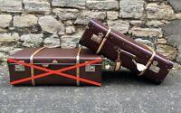 DDR Koffer Kindelbrück Vulkanfibre Ostalgie Vintage Suitcase 50er 60er