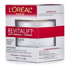 L'Oreal RevitaLift Anti-Wrinkle + Firming  Face/ Neck Contour Cream 48g Womens
