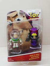 Disney Pixar Toy Story Buzz & Zurg Figures Mattel 2015 New