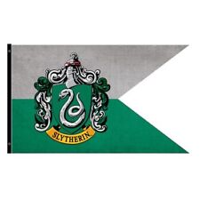 Harry Potter New * Slytherin Outdoor Flag * 30 x 60 Weatherproof Banner Poster