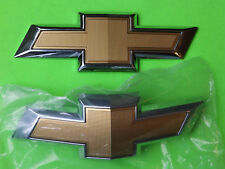 2014 2015 2016 2017 2018 Chevrolet Camaro OEM Bowtie Emblems Front New Rear used