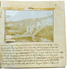 1904-06 Manuscript Diary - CHINA - RUSSO-JAPANESE WAR - Kiautschou Bay - Qingdao