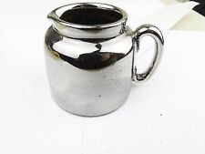 ANTIQUE EARLY VICTORIAN SILVER LUSTRE MILK CREAM JUG FROM TEA SET TEASET