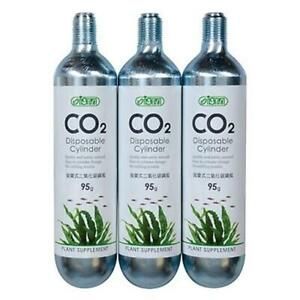Ista Disposable Cylinder CO2 Cartridge 95g x 3pc Supply for Planted Aquarium