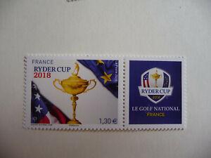 France n° 5245 ( Golf Ryder - Cup )  Neuf ** Année 2018