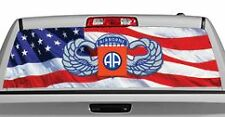Truck Rear Window Decal Graphic [Military / 82nd Airborne] 20x65in DC05106