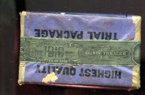 Tobacco strip on original NAVY packet 1 oz  FREE TRIAL size 1910