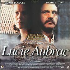 LUCIE AUBRAC WS VF PAL LASERDISC Carole Bouquet, Daniel Auteuil, Patrice Chéreau