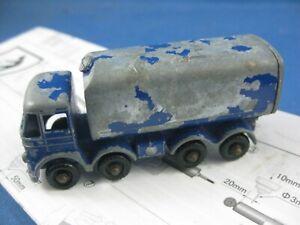 Vintage Lesney #10C  Foden Sugar Truck  for Restoration