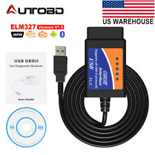 ELM327 USB Interface OBDII OBD2 Diagnostic Auto Car Scanner Tool Code Read Cable