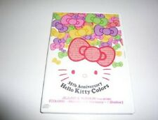 KPOP TVXQ Tohoshinki Jejung & Yuchun Colors Hello Kitty 35th Anniversary CD Rare
