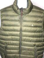 Polo Ralph Lauren Men's Puffer Vest Size 3XB Big And Tall Green