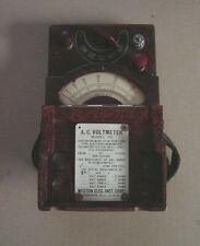 Weston Electrical Instruments AC Voltmeter Model 330 Untested