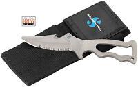 Scubapro X-Cut Tauchermesser Titanium 6cm Klinge