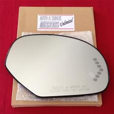 NEW Mirror Glass AND BACKING HEATED CHEVY GMC TRUCK SUV Passenger Side SIGNAL