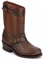 Frye Engineer Leather Boot Sz 6 Buckle-Trim Brown Anniversary Edition Womens NIB