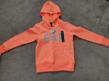 Girls GAP Hoodie 6-7 Orange BNWT