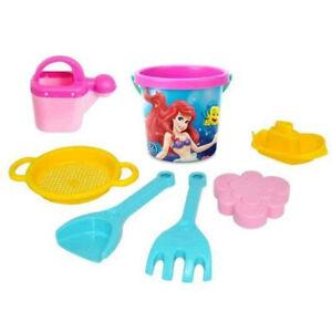 7 pc Beach Toys for Girls, Bucket, Shovel Sand Sandbox Outdoor Sand Play Kit