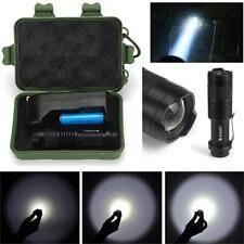 2000lm Práctica Mini Cree Q5 linterna flash LED 14500 Batería Y CARGADOR+CAJA