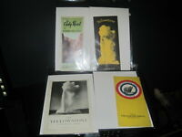 4 vintage Yellowstone national park brochures maps hotel information 1930s lot