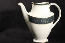 Royal Doulton CARLYLE Teal Band w/Gold #H5018 5-Cup Coffee Pot (no lid), England