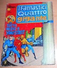 ED.CORNO  SERIE  I FANTASTICI QUATTRO GIGANTE  N° 16  1979  ORIGINALE  !!!!