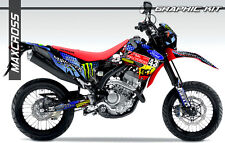 HONDA CRF250L CRF250M MAXCROSS GRAPHICS KIT DECALS DECAL STICKERS FULL KIT #33