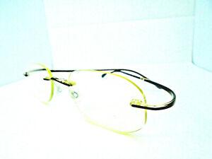 Silhouette SPX 1966 Brown 19-145 Mens Rimless Eyeglasses Rx Frames