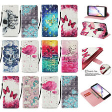 For Samsung Galaxy A10e A20e Luxury Painted Leather Flip Wallet Case Cover