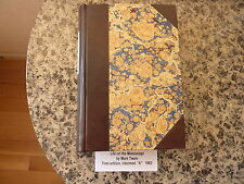 Life on the Mississippi by Mark Twain. 1st ed, with Twain's head in the flames