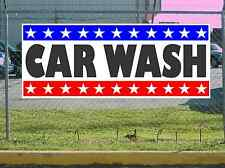 Stars & Stripes CAR WASH Banner Sign NEW Texas Size & Quality