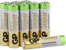 GP Super Alkaline 1.5V AAA Micro LR03 4+4