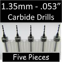 50pcs Carbide Micro Drill Bits  2.9mm CNC PCB Dremel 1//8 3.175mm Shank
